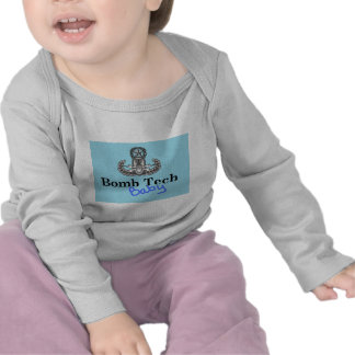 azuis bebés da tecnologia da bomba tshirt