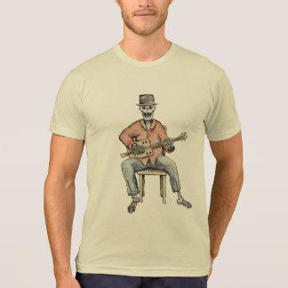 Azuis do esqueleto de CBG Camiseta