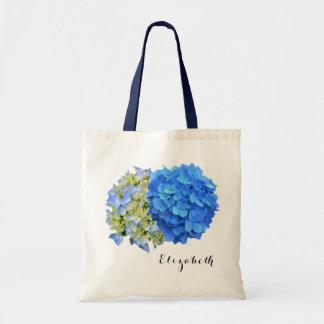 Azuis o bolsa conhecido personalizado dois