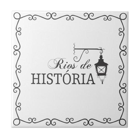 Azujejo Rios de História