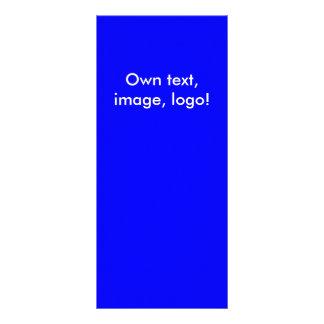 Azul-Alaranjado real do cartão da cremalheira
