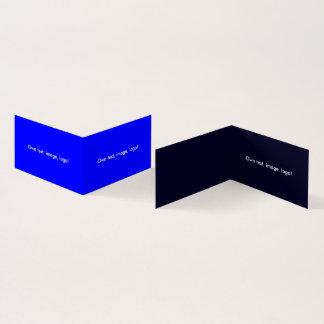 Azul Azul-Escuro real dobrado do livro H do cartão