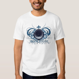 Azul baixo do Trance T-shirts