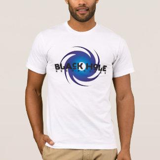 Azul básico das gravações do buraco negro camiseta