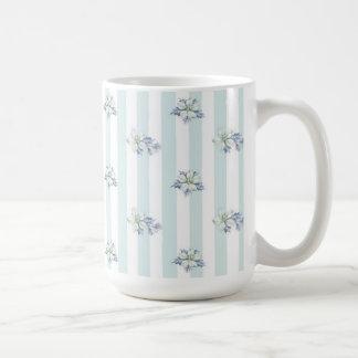 Azul & caneca de café do White Christmas
