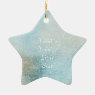 Azul celestial enfeites para arvores de natal