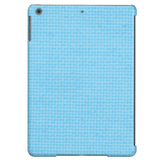 Azul-céu acolchoados capa para iPad air