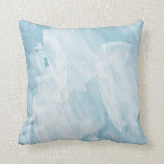 Azul-céu Travesseiro