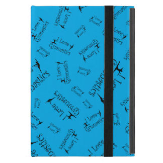 Azul-céu eu amo a ginástica capa iPad mini
