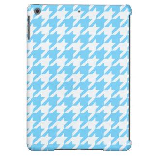 Azul-céu Houndstooth 1 Capa Para iPad Air