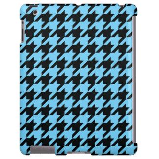 Azul-céu Houndstooth 2 Capa Para iPad