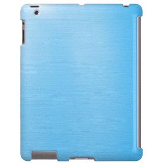 Azul-céu metálicos capa para iPad