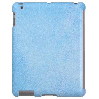 Azul-céu Textured Capa Para iPad