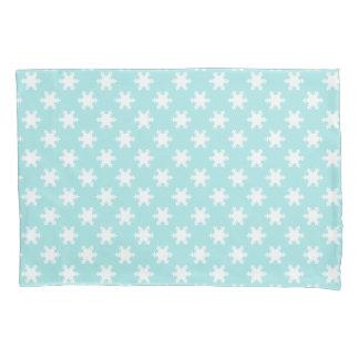 azul claro elegante do teste padrão dos flocos de