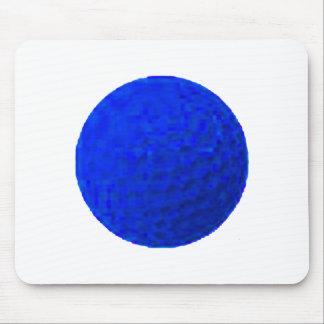 Azul da bola de golfe os presentes de Zazzle do MU Mousepad