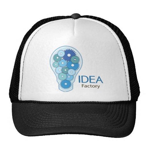 Azul da fábrica da ideia bonés
