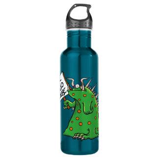 Azul da garrafa de água de Greep