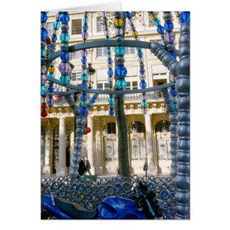 Azul da joia - cartão de Paris8