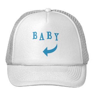 Azul da seta do bebê boné