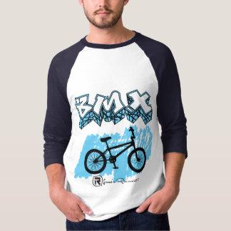 Azul de BMX Camisetas