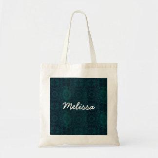 Azul de MELISSA e coleção conhecida feita sob Sacola Tote Budget