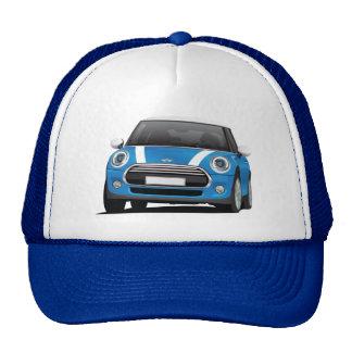 Azul de Mini Cooper S (F56) com listras brancas Boné