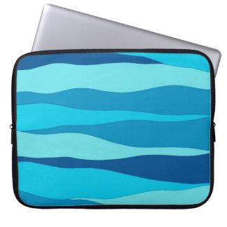 """Azul de oceano 15"""" a bolsa de laptop capa para computador"""