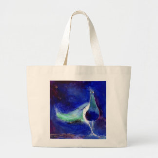 Azul de pavão 2013 sacola tote jumbo