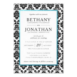 Azul de Tiffany e convite do casamento tema