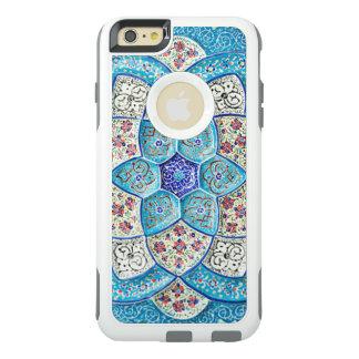 Azul de turquesa marroquino tradicional, branco,