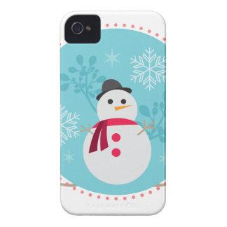 Azul de turquesa original bonito do Natal do Capinhas iPhone 4