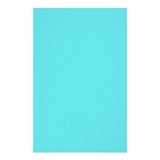 Azul do Aqua de Tiffany Papel Personalizados