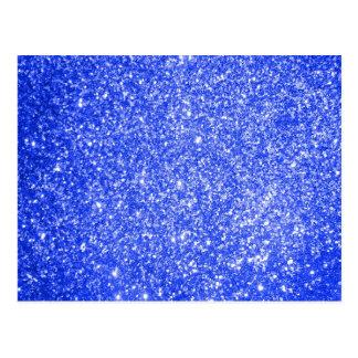 Azul do brilho cartão postal