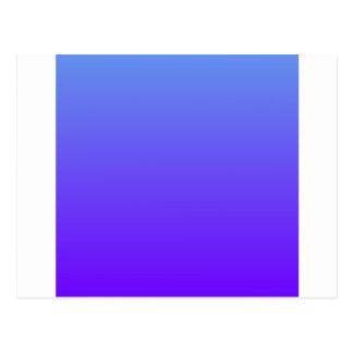 Azul do Cornflower ao inclinação elétrico de H'l Cartao Postal