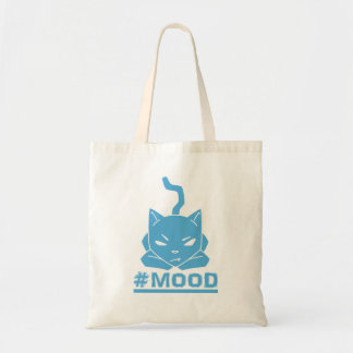 Azul do gato do #Mood - o bolsa