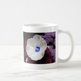 Azul do hibiscus caneca