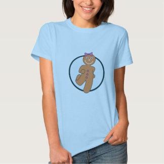 Azul do pão-de-espécie tshirts