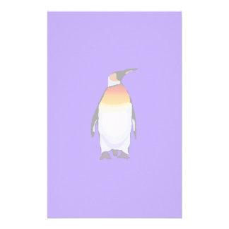 Azul do pinguim papelaria