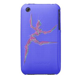 Azul do rosa do dançarino da arte abstracta