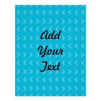 Azul do teste padrão da seta panfletos coloridos