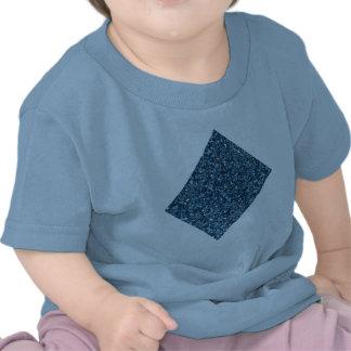 AZUL dos PRODUTOS do BRILHO para FERIADOS ou alg Camisetas