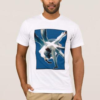 azul dos sem mao do au camiseta