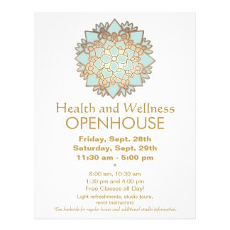 Azul e insecto da saúde e do bem-estar da folha de panfletos coloridos