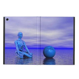 azul e paisagem do chakra