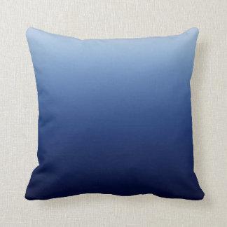 Azul escuro almofada