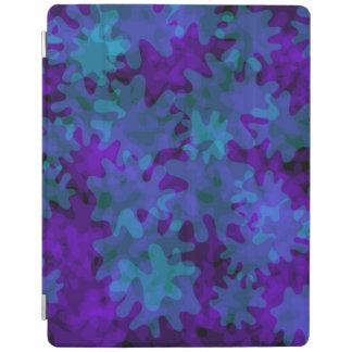 azul esperto e roxo do cobrir do ipad capa smart para iPad