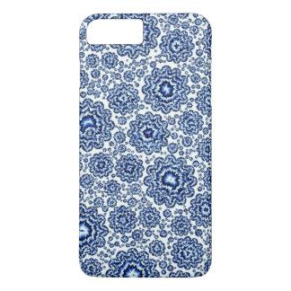 azul foral trippy (c) capa iPhone 7 plus