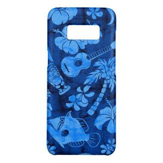 Azul havaiano do Batik da praia de Makapuu Capa Case-Mate Samsung Galaxy S8