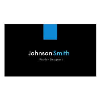 Azul moderno do Aqua do desenhador de moda Cartoes De Visitas