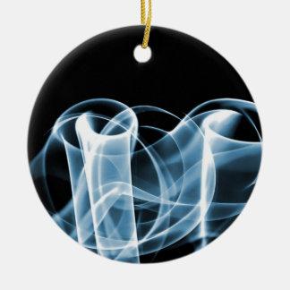 Azul - o arco-íris acena Collectible Enfeites Para Arvores De Natal